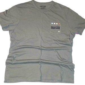 PAC-MAN Pocket T-Shirt | Green/Gray | XL | NWOT